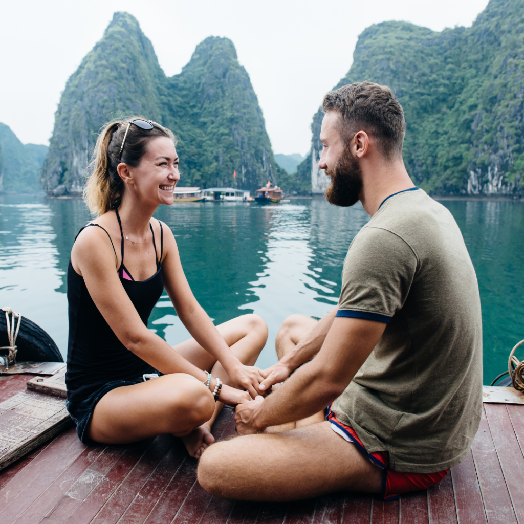 Couple Travel Island