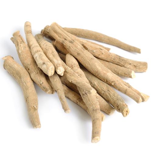 Ashwaganda root brown herb