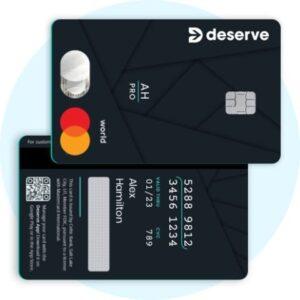 Deserve Pro Cash Back Credit Card