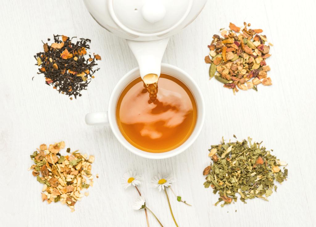 Immunity Tea Recipe blends teacup tea