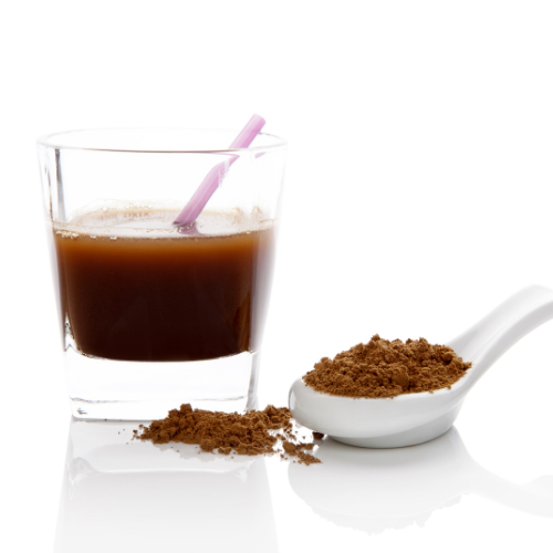 Reishi Coffee in a Coffee Glass