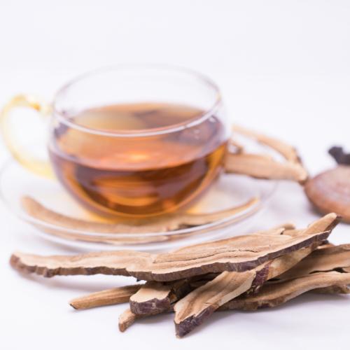 Reishi Tea in A Cup