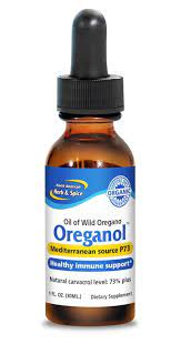 Oreganol Oregano Oil Bottle Super Strength