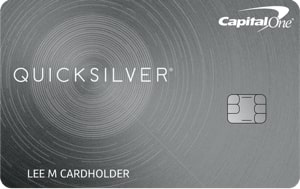 Capital One Quicksilver Cash Back Credit Card