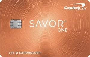 Capital One SavorOne Cash Back Credit Card